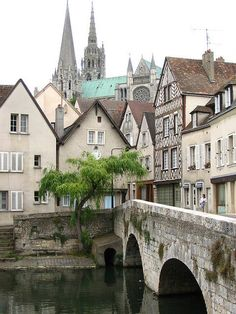 In Chartres, France.