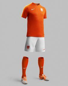 Nova camisa da Holanda para o Mundial de 2014