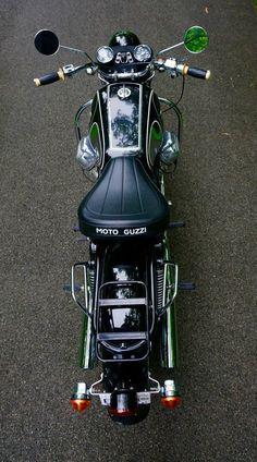 clean Moto Guzzi Eldorado