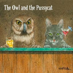 'The Owl and the Pussycat' by Will Bullas