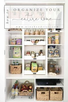 Organize | Learn simple strategies for getting rid of clutter, cleaning things up, and creating smart storage solutions. #organization #storagesolutions