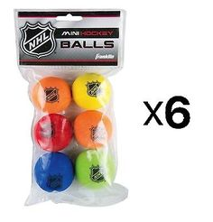 Novelties and Gifts 165937: Franklin Sports Indoor Outdoor Nhl Shot Zone Mini 2 Foam Hockey Balls (6-Pack) -> BUY IT NOW ONLY: $36.13 on eBay!