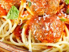 "What's for Dinner: Spaghetti and Meatballs  Top Chef Antonia Lofaso shares a recipe from ""The Busy Mom's Cookbook"""