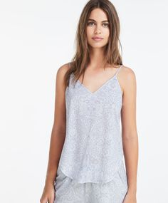 Strappy paisley top - New In.