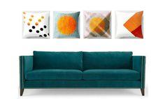 pillows from Jensen Merréll Designs