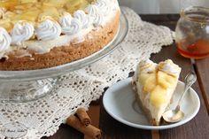 Cheesecake alla mela e caramello
