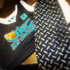 #TeamSportsPlanet #exclusive #basketball uniform, the #EliteSpinner is a #sublimated #designyourown #style  @okchitsquad Love the color combo on your new unis!! They will be headed out the door shortly. Please send us a team pic. :)