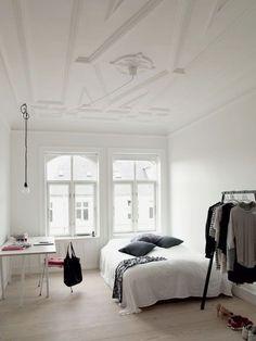 4 Top Tips: Minimalist Home Office Beds minimalist bedroom desk simple.Colorful Minimalist Home Mid Century modern minimalist bedroom decor. Dream Bedroom, Home Bedroom, Bedroom Decor, Bedroom Black, Bedroom Small, Bedroom Ideas, Trendy Bedroom, Bedroom Interiors, Modern Bedrooms