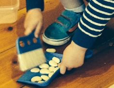 #sweeping #montessori #toddlereducationservices  http://toddlereducationservices.com.au/shop/