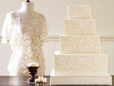 Use renda no casamento - Coluna Bruna   <i>Crédito: Reprodução