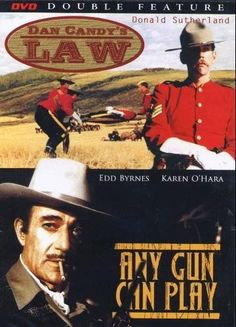 Dan Candy's Law +  Any Gun Can Play Double Feature DVD B&W Donald Sutherland 842718004594 | eBay