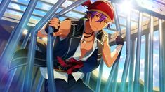 File:(Strength to Protect) Adonis Otogari Track Uniforms, Boy Idols, Star Cards, Handsome Anime, Ensemble Stars, Cute Characters, Manga, First Dance, Anime Guys