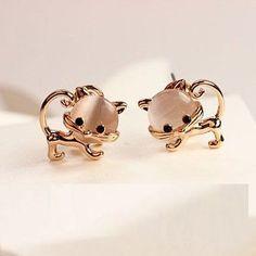 Adorable Kitty Earrings