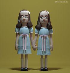 Twins The Shining