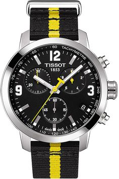 TISSOT T055.417.17.057.01 PRC 200 stainless steel watch
