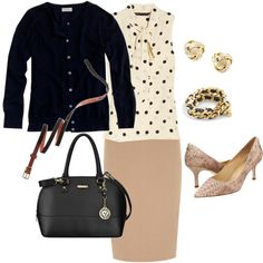 """Work outfit"" by vweldon on Polyvore"