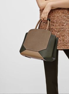 Structured, sculptural, and key to elevating your everyday-bag situation.