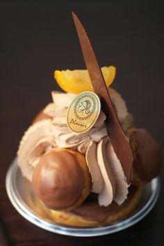 Chocolate Kumquat Saint-Honoré