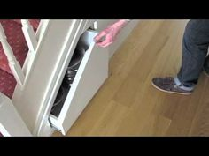 Smart and creative tips for under stairs storage space. Genial ideas to gain a plus of storage using this space. Many inspiring ideas for cabinets and drawer.