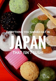Man cannot live on eel alone. Sushi may be the country's most famous export, but Japan's culinary ecosystem span stellar street food, artful tasting menus, rib-sticking bar snacks and noodle soups that inspire Beatles- (or Bieber-) level devotion. Contributor Emily Saladino explores traditional delicacies beyond the sushi bar. Douzo meshiagare!