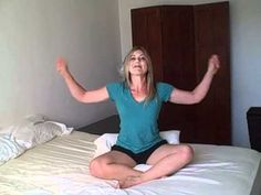 Upper Body Cardio Workout in Bed w/ Laurel House. Great if you have a lower body injury!