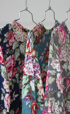 floral swing dresses… obsessed!