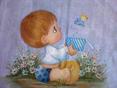 Pinturas para roupas de bebê