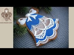 Christmas  cookies, holiday cookies. Cookie decorating with royal ising. Christmas bell. Link download: http://www.getlinkyoutube.com/watch?v=RGTkizyiOzg