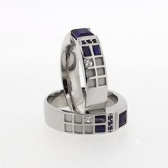 Doctor Who TARDIS Ring - the real thing this time, after making the design it's been finalized and actually physically made!