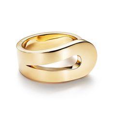 Out of Retirement® loop bracelet in 18k gold, medium.