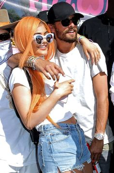 Kylie Jenner & Scott Disick from The Big Picture: Today's Hot Pics  Coachillin'! The Keeping Up With the Kardashianscostars hit their first party of theCoachella Music Festivalin Indio.