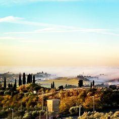 La Chiesa di S.Michele #Calmasino #Bardolino nella #nebbia #Gardasee #LakeGarda #LagodiGarda #igergarda #igerveneto