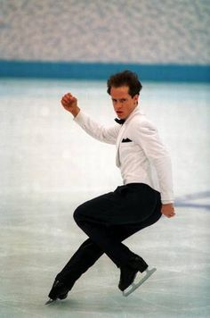 Kurt Browning ~ World & Canadian Figure Skating Champion ~ Won championships 4 times.