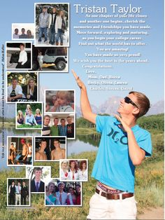 2014 Pasco High School, Dade City, FL: Magazine style Dominant Full page Yearbook staff created Senior Yearbook Tribute Senior Yearbook Ads, Yearbook Staff, Yearbook Pages, Yearbook Layouts, Yearbook Design, High School Yearbook, High School Seniors, Senior Pictures, Yearbook Ideas