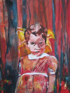 Acrylics on canvas by Heidi Nuyts