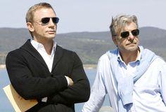 Daniel Craig and Giancarlo Giannini