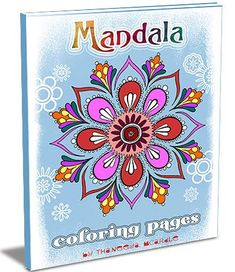 Mandala Coloring Pages: A Printable E-Book Featuring 23 Hand-Drawn Mandalas to Color  $8 download!
