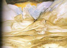 Anton Lehmden , Berstende Landschaft(1977-82)