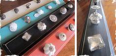 Shabby Chic Decorative Knob Rack!