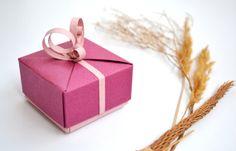 Elegant Bridesmaid Gift Box Wedding Gift Box Small by KAGITLIK, $7.50