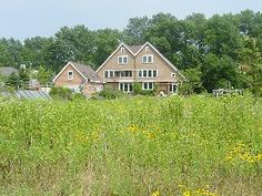 Cedar Grove House Rental: Shingle-style Lake Michigan Home On Miles Of Sandy Beach | HomeAway