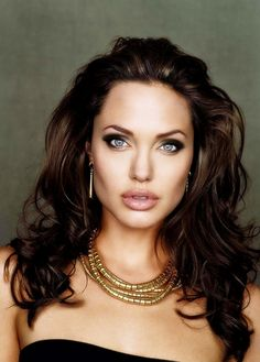 Angelina Jolie she has the most hypnotic eyes