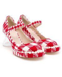 simone rocha tweed mary jane pumps - Google Search