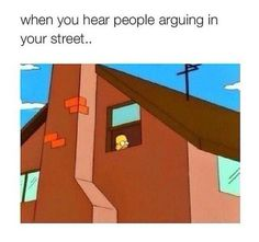 Our neighbors are way too far to do this but it sure does remind me of my apartment days lol Stupid Funny Memes, Funny Relatable Memes, Haha Funny, Funny Posts, Hilarious, Funny Stuff, Random Stuff, Funny Shit, Chill