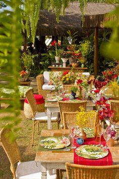 Casamento Tropical Boho | Vestida de Noiva | Blog de Casamento por Fernanda Floret