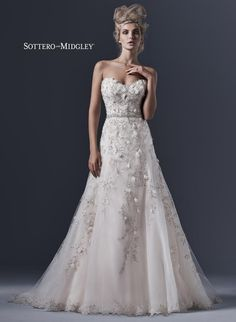 Sottero and Midgley by Maggie Sottero Elita-5SR606 Sottero and Midgley Collection Amanda-Lina's Sposa Boutique - Wedding Gowns, Prom, Bridesmaid and Evening Dresses