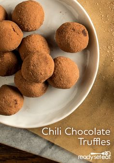 ... chocolate truffles get a spicy kick from smoky chipotle chili powder