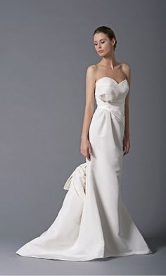 Breathtaking! Peter Langner Winnie Decolte Couture Bridal Gown  *Receive EXTRA 10% Off w/code: PIN10 at www.yourdreamdress.com