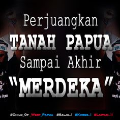 Perjuangkan TANAH PAPUA Sampai Akhir MERDEKA. http://bit.ly/1CBHZKU  #Free_West_Papua #Salju #Kores #Lawan