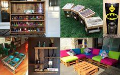15 Ideas de paletas de bricolaje para su hogar